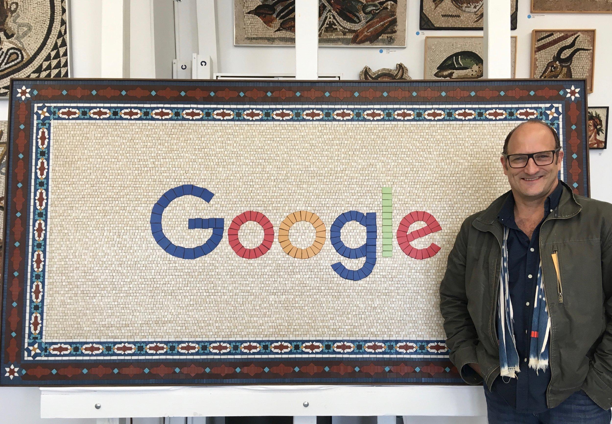 Signage commission for Google