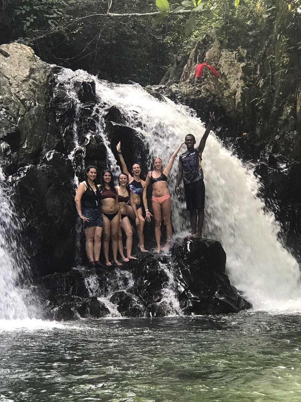 Made it to the waterfall!