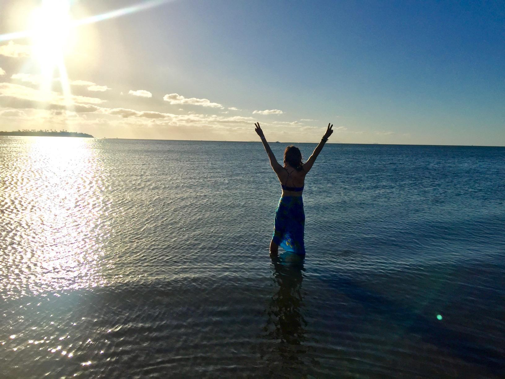 Denarau Island sunset #1.