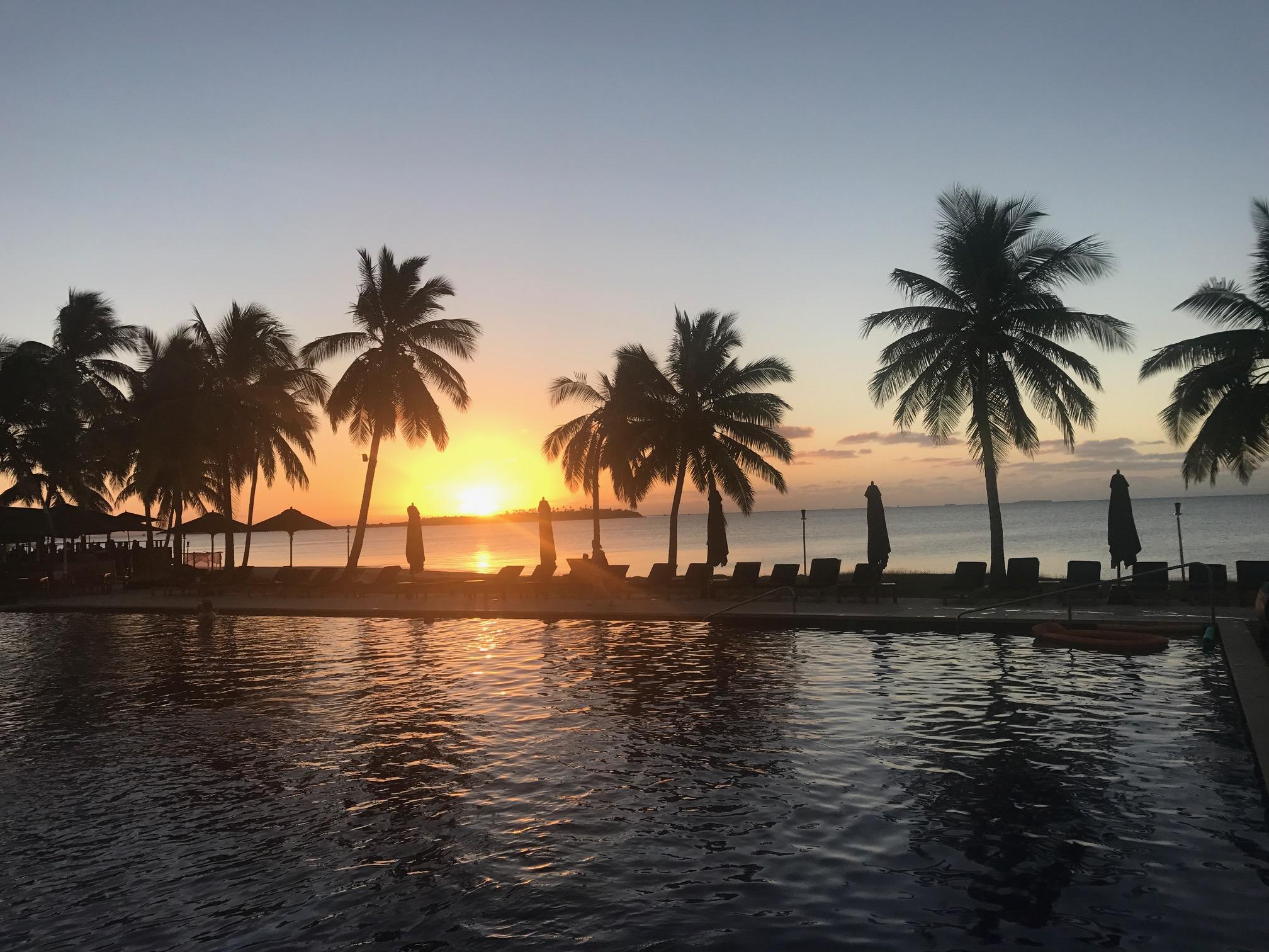 Denarau Island sunset #2.