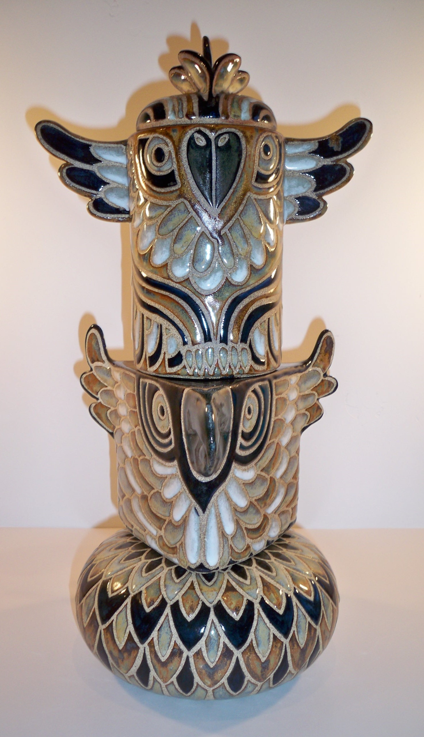 """""""Totem"""" by Cathra-Anne Barker"""