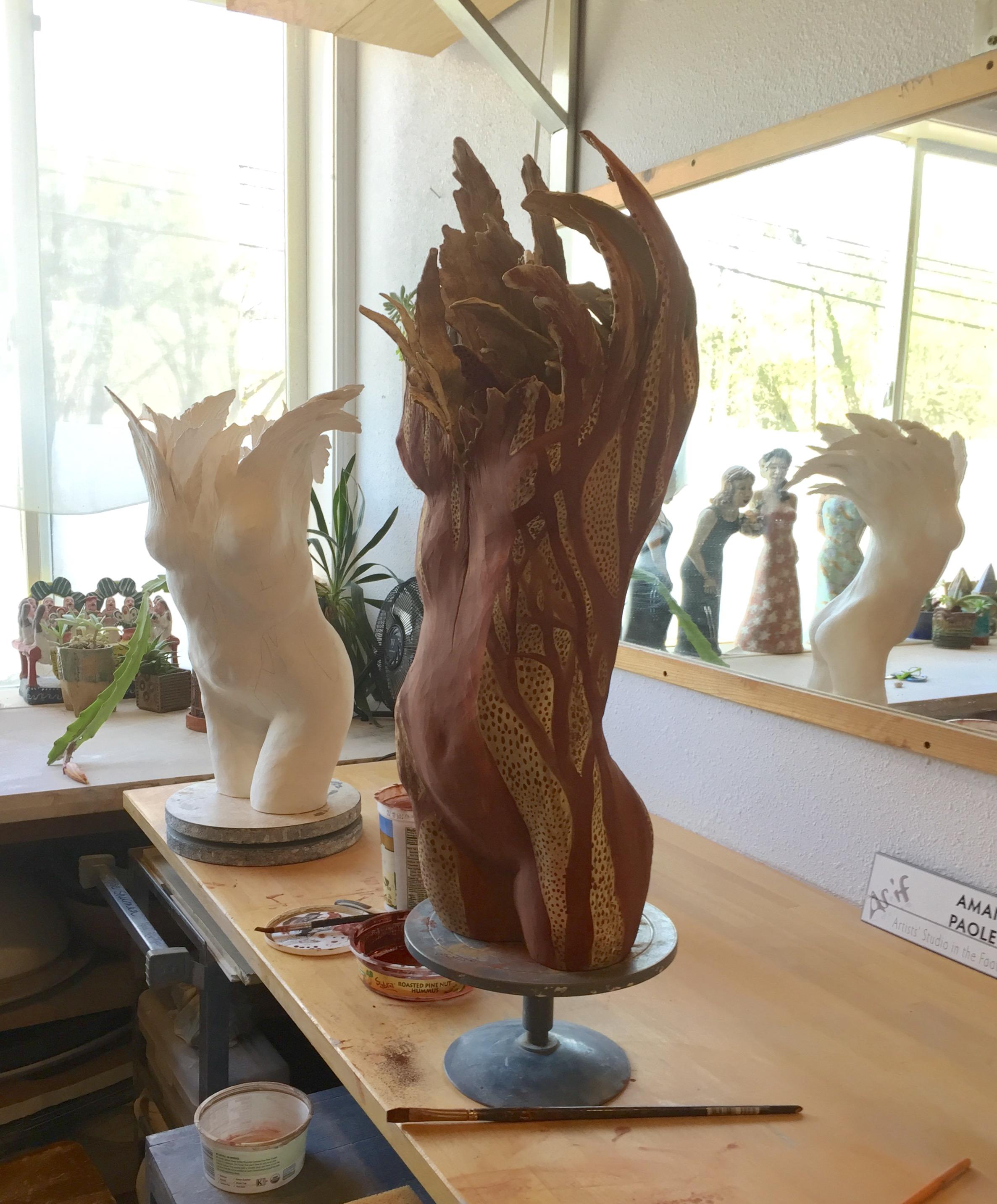 Amanda Paoletti.Studio Shot.2.Figurative Tree Series.2018.jpg