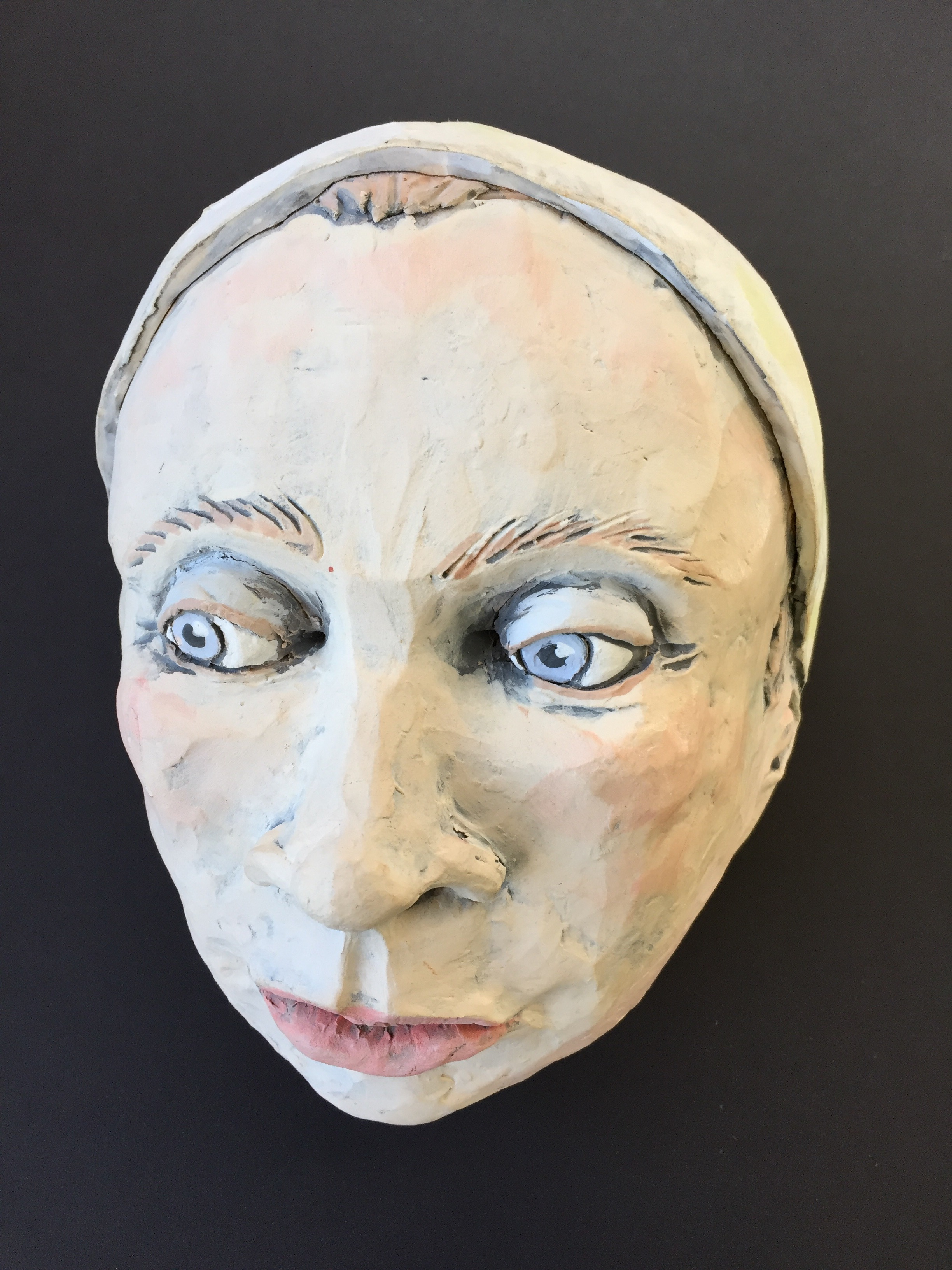 Ceramic Mask By Claudia Jeffers