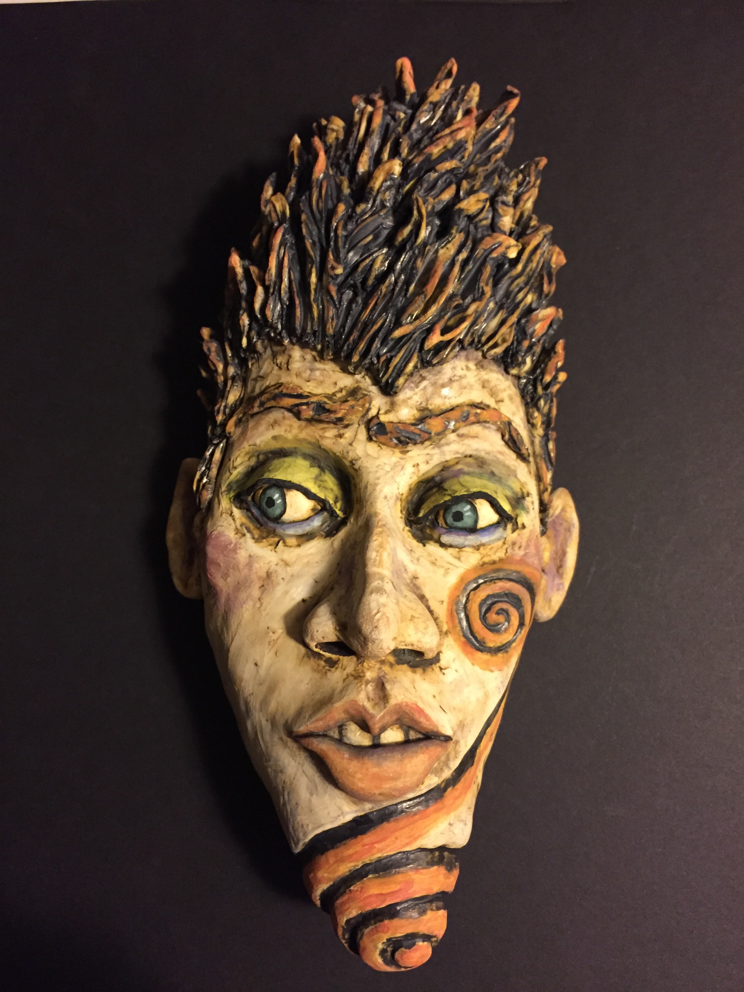 Ceramic Mask by flo fahrenheit