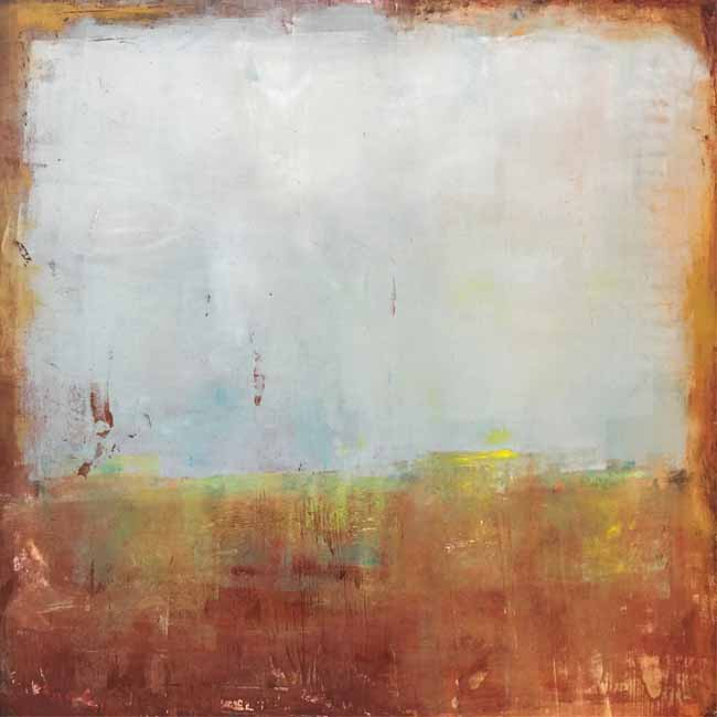 """""""exhale"""" , cold wax & oil by susan lobb porter"""