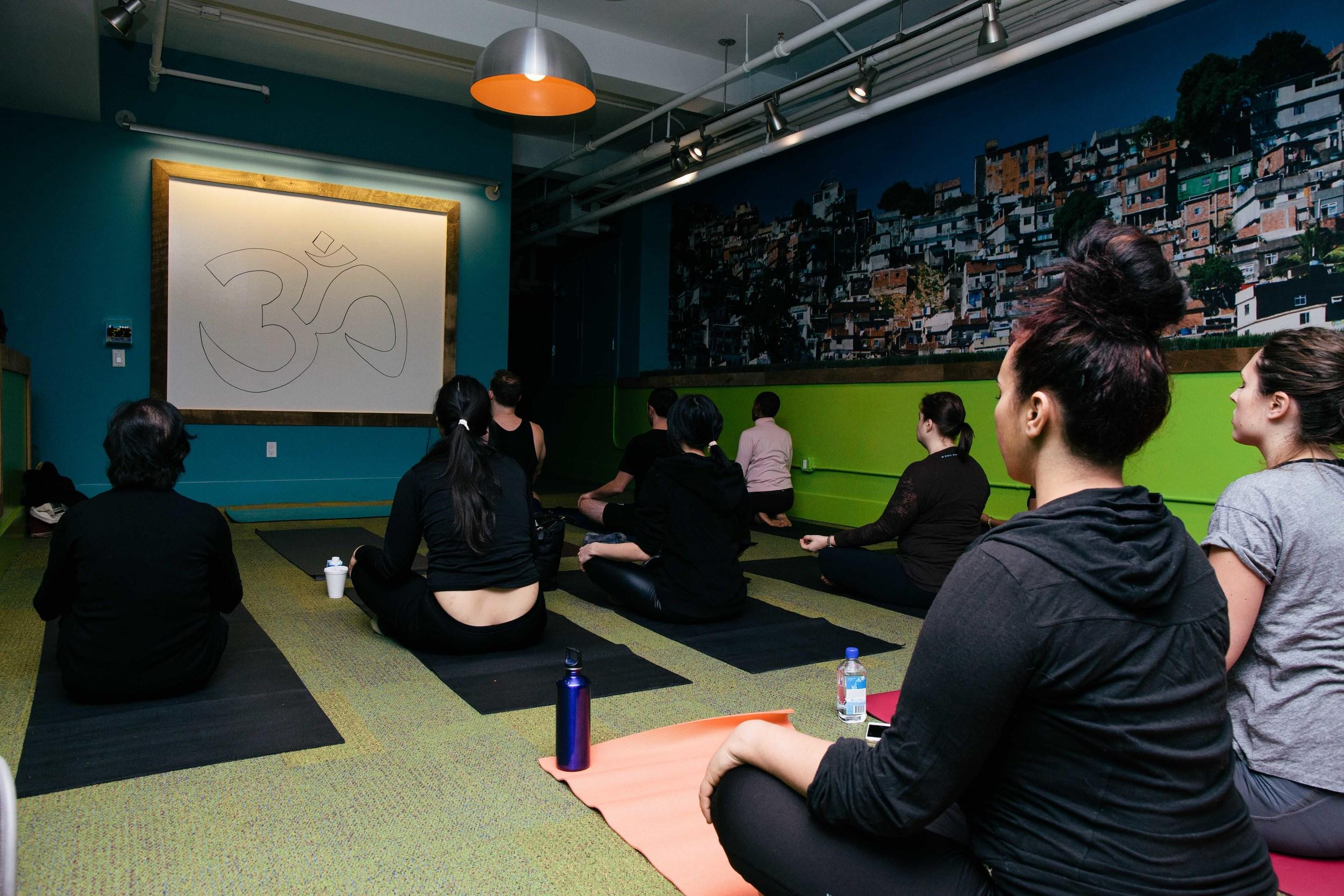 meditation session for professionals at our partner venue, offsite.