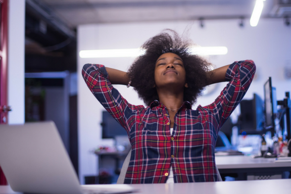DE-STRESS AT YOUR DESK - Work From Om®'s most popular workshop, De-Stress At Your Desk is a great introduction to mindfulness, meditation and body awareness as stress-management tools for busy professionals.
