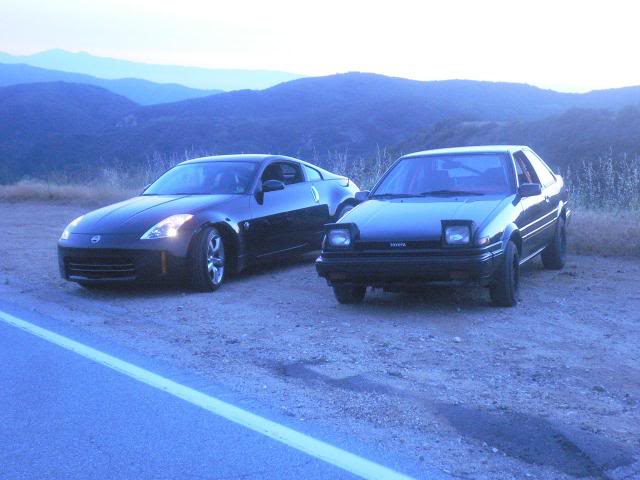 Taken on the first day I had my Z. I did the responsible thing and took it to the touge.
