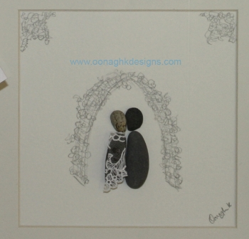 The Happy couple - you can personalise with names, dates, venue etc