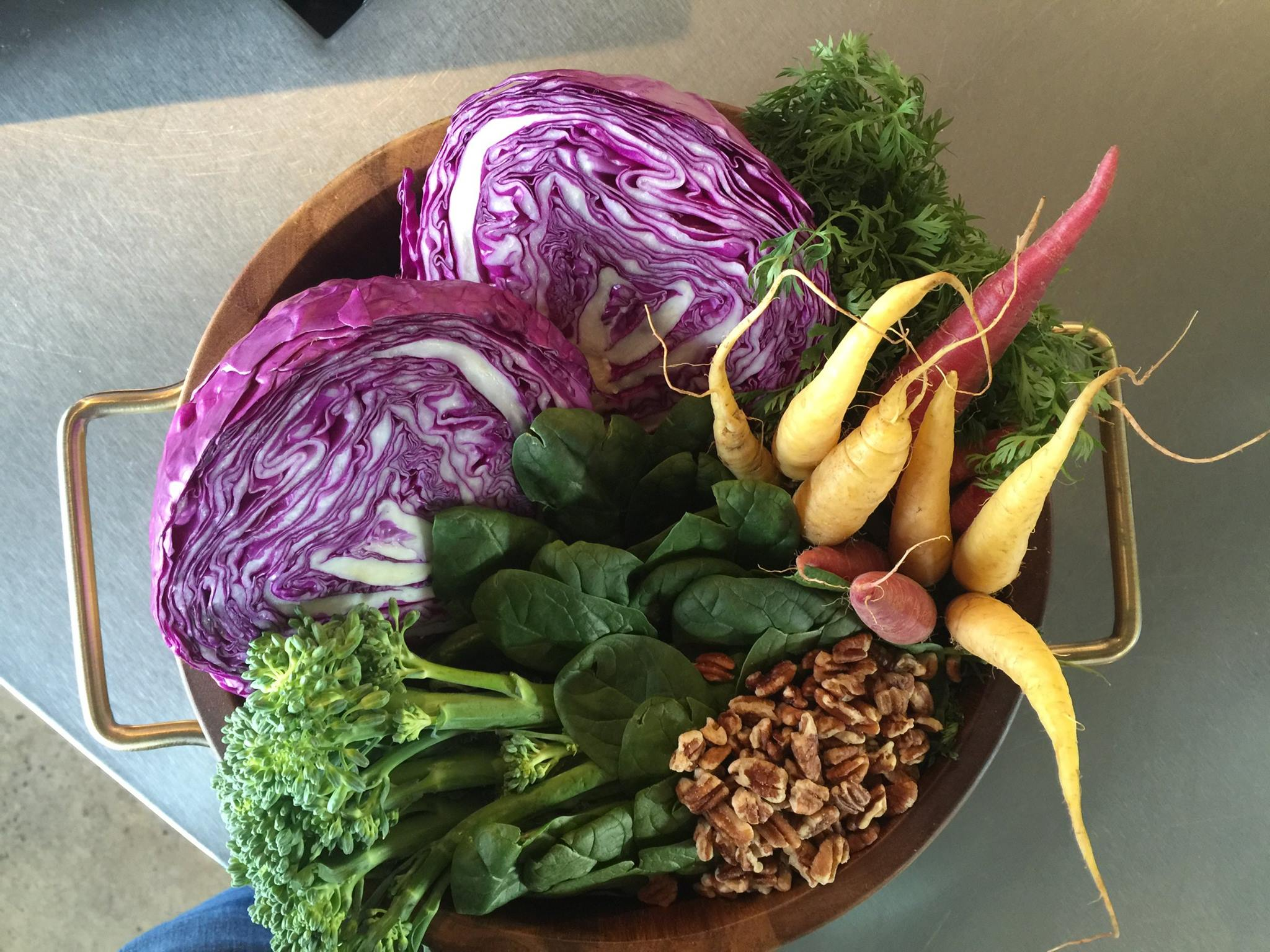 One of the weekly farm to table mixes at ZEN Japanese Food Fast