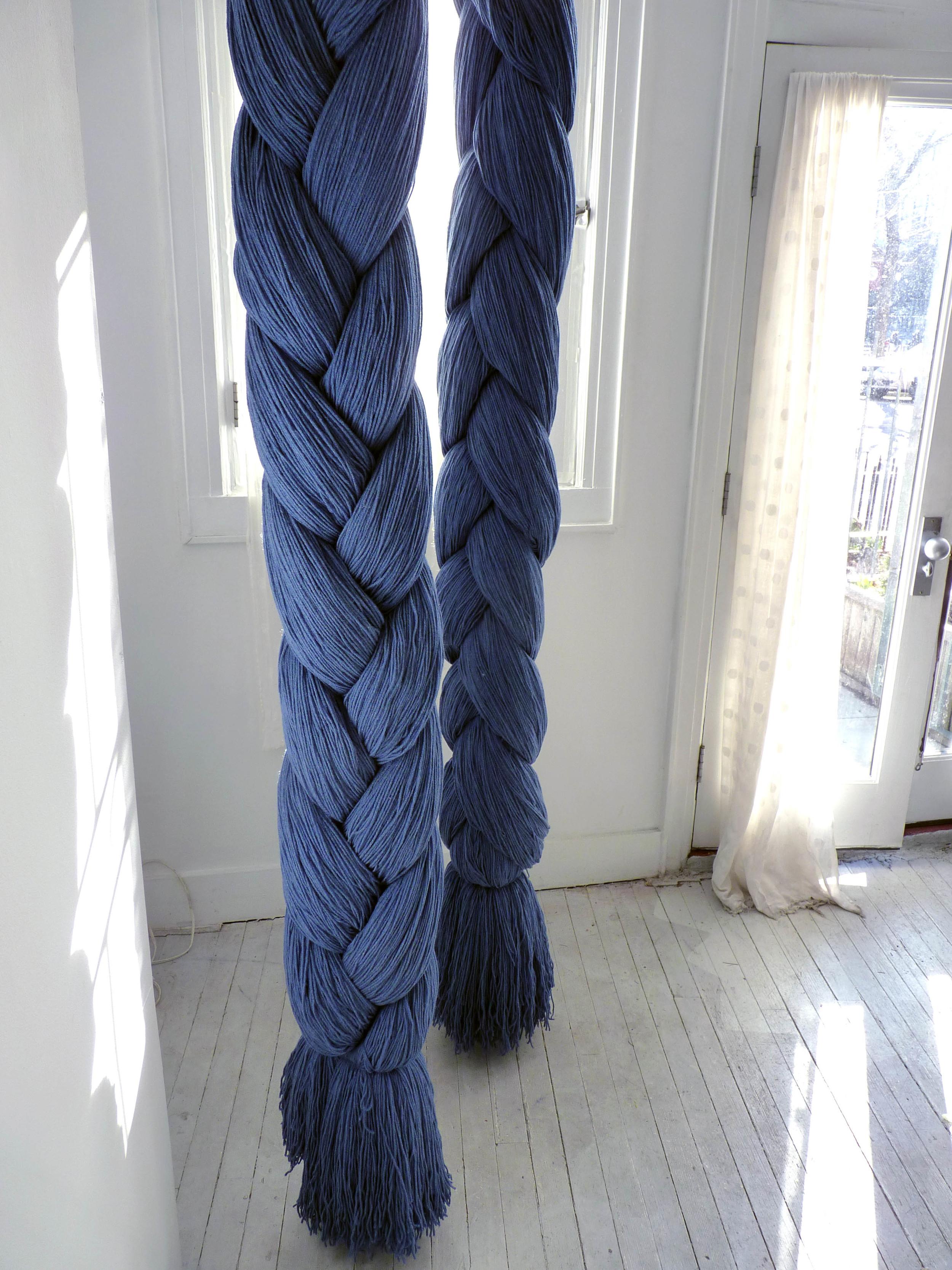 Laura, 2005-11, Acrylic Yarn, hardware, 3 x 4 x 9 feet (Detail)