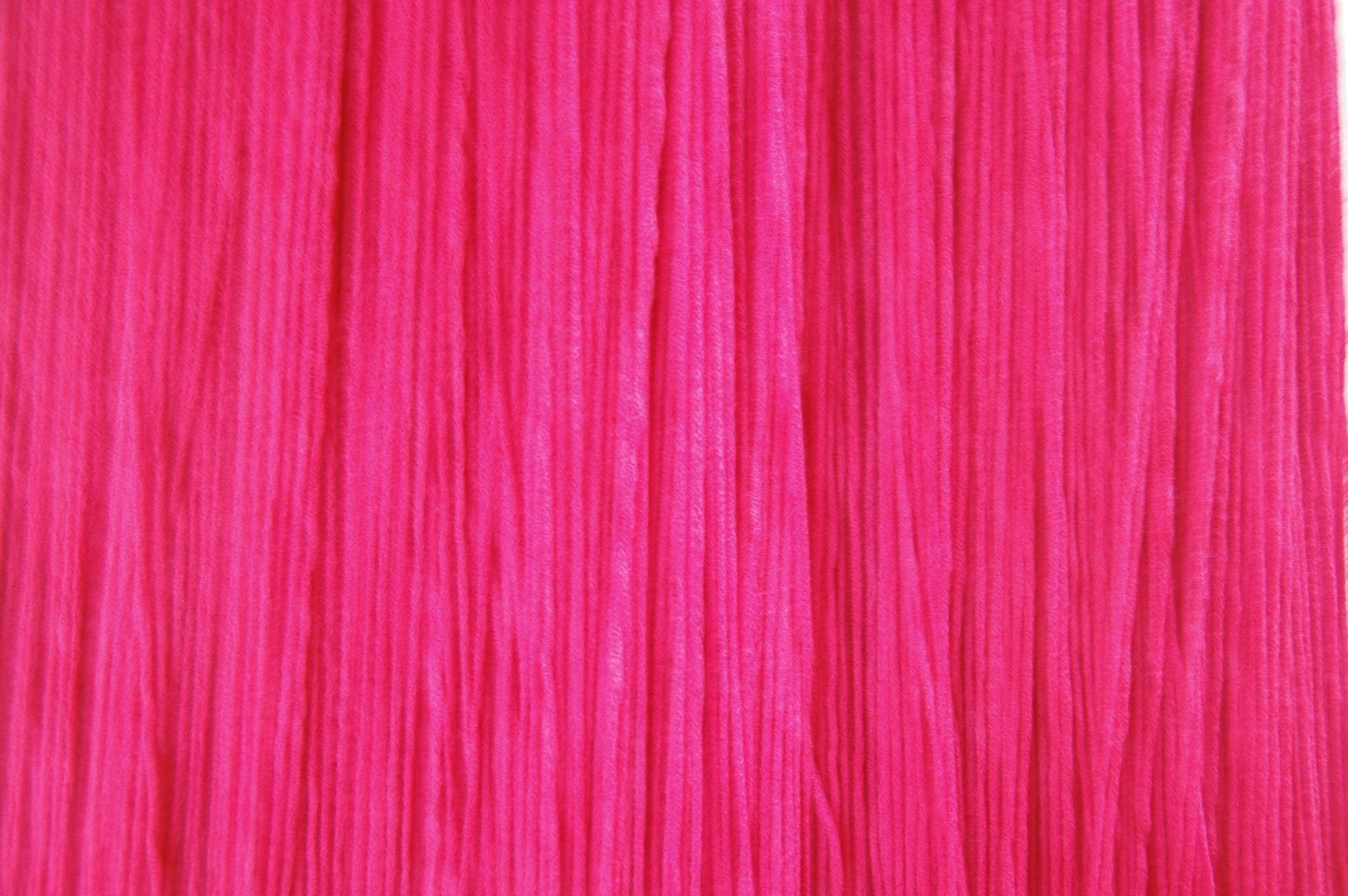 A Work in Progress: TRIM (Installation at Usdan Gallery, Bennington College), 2010, Acrylic yarn, 14' x 40' x 80' (Detail)