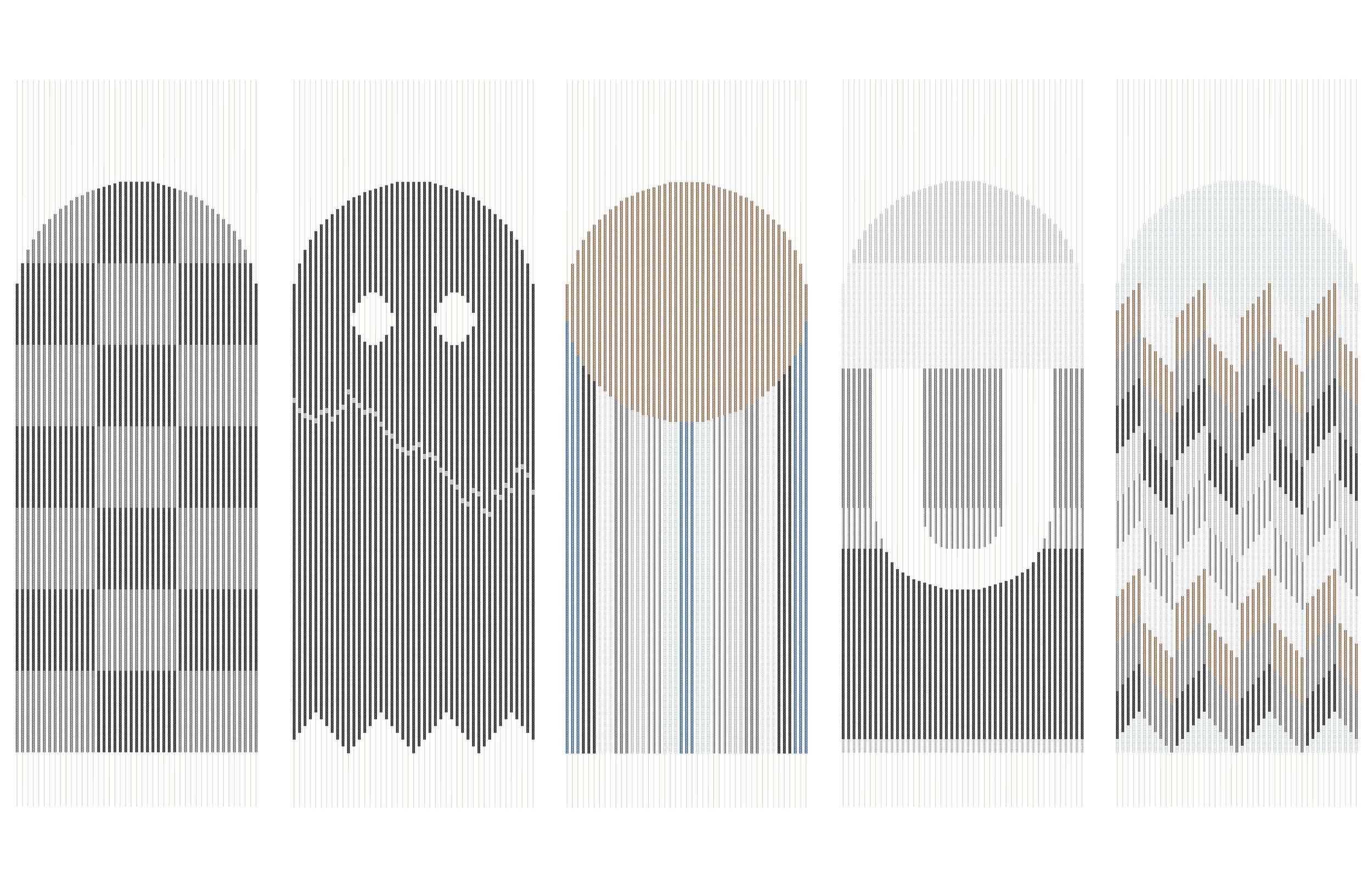 """Pac Man,"" 2009, Digital drawing, 17 x 11"""