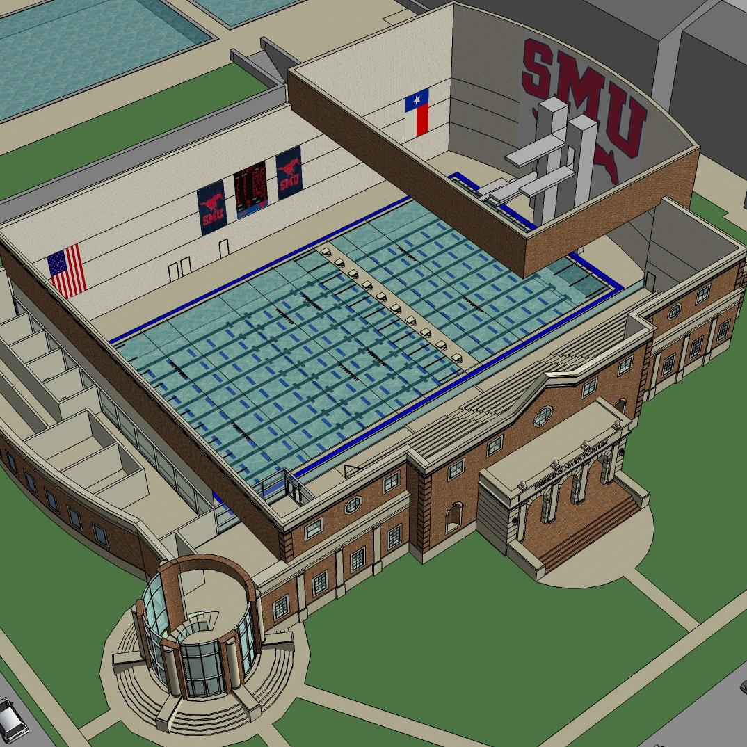 Southern Methodist University- Perkins Natatorium