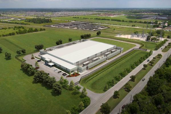 Skybox Houston One, the 86,960-square-foot center being developed by Skybox Datacenters