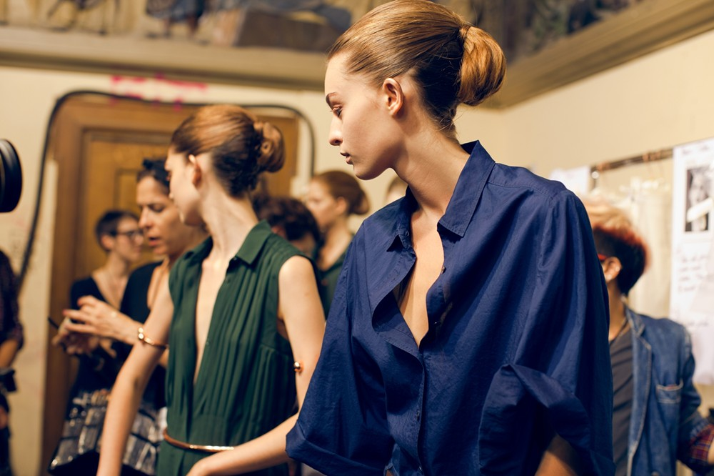 Paris Fashion Week Interview with Veronique Branquinho