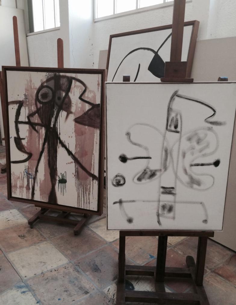Inside Miro's Atelier