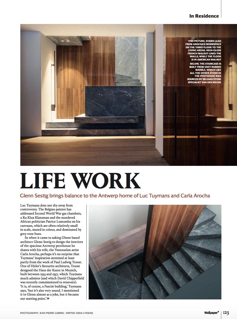 'Life work'