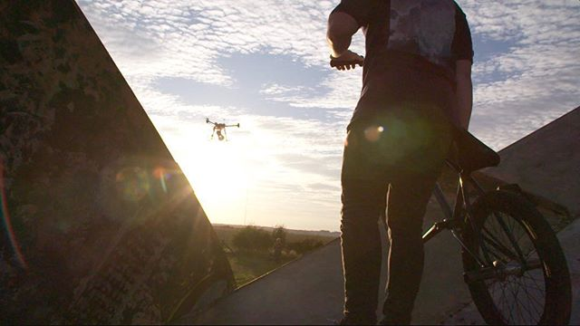 No light stand? No problem.....just strap it to a big drone! 👇 Full link in Bio!  Using the @interfitphotouk S1 to get the shot on a recent short with @leofrancisphotography. . . . #vidstagram #instavid #vidoftheday #DOP #videodaily #marketing #agameoftones #artofvisuals #FS7 #sony #sonyFS7 #camera #film #filmmaker #filmmaking #GH5 #cinematography #cinematographer #gearporn #onset  #editor #onlinemarketing #cameraop #instadaily #instagram #videographer #bmx #bike #extremesports #bmxstreet