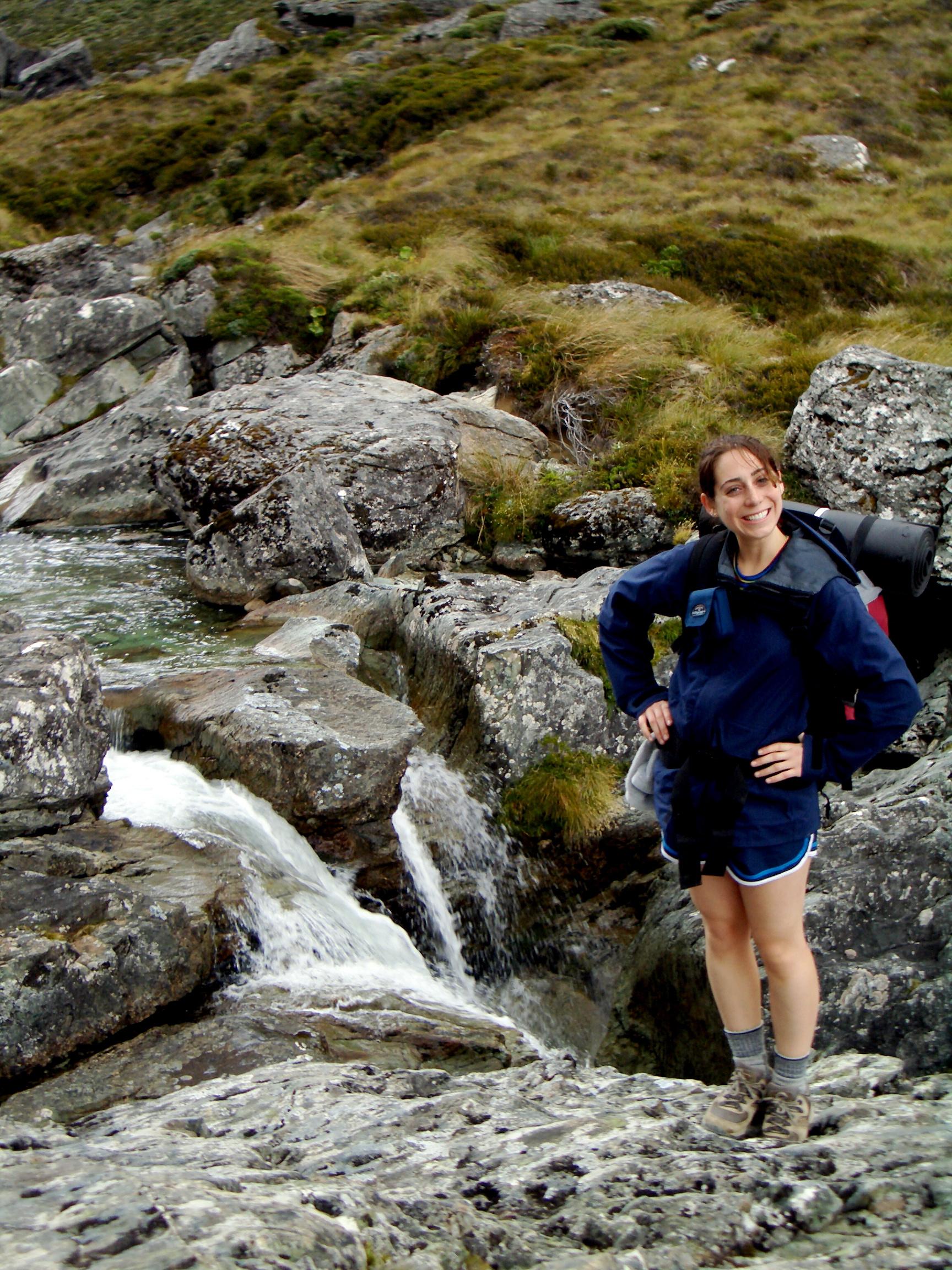 Hiking photo of Katie