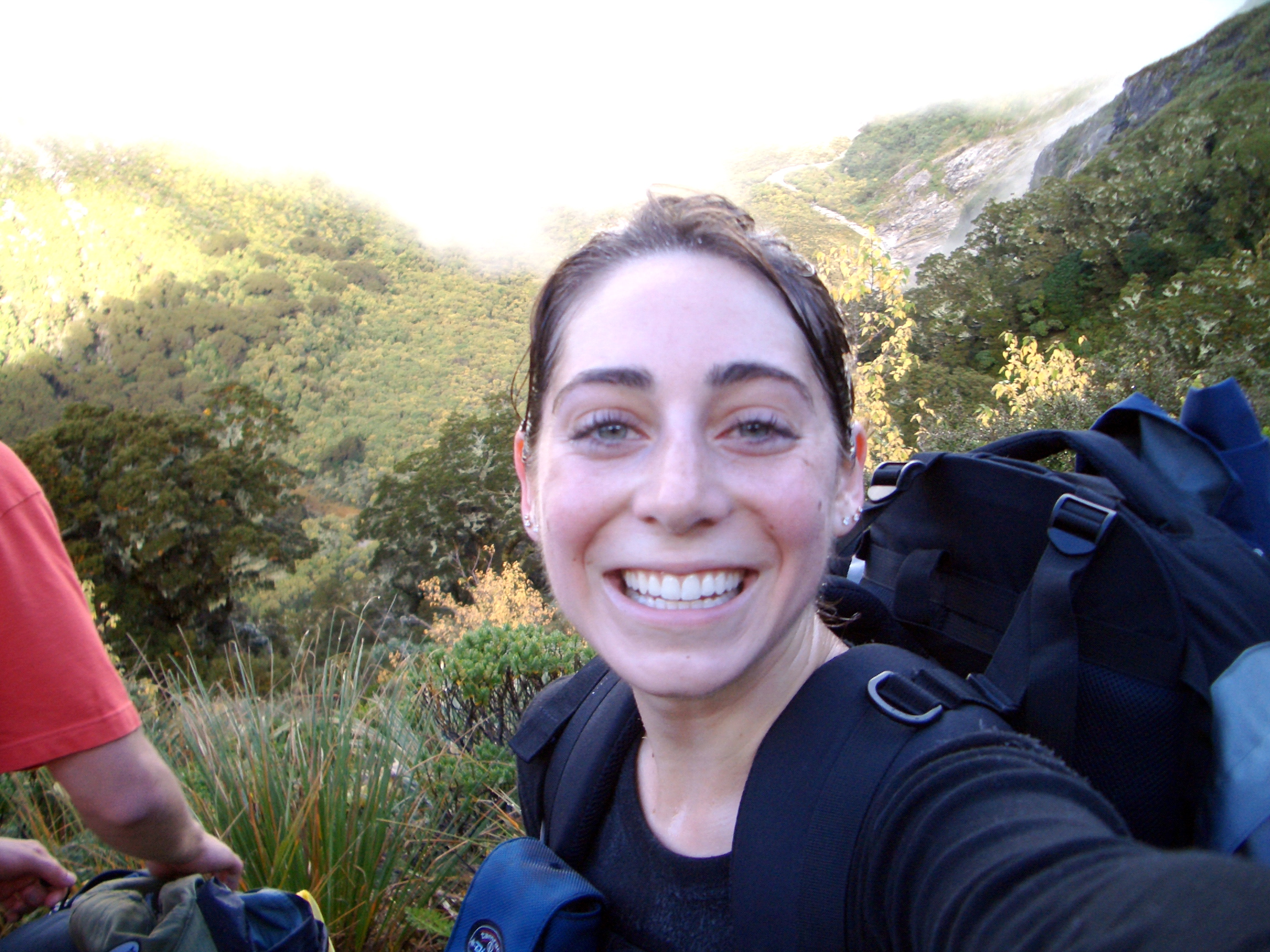 Katie Habib Hiking