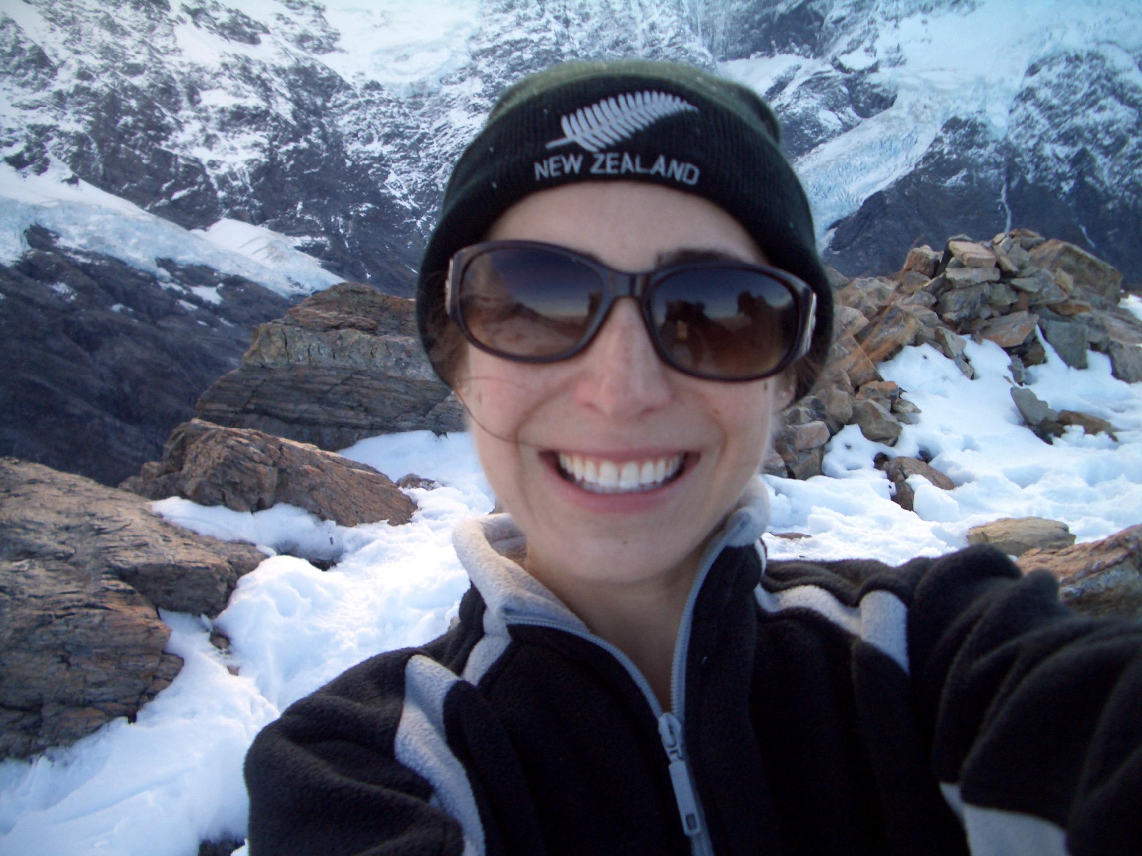 Katie Habib Hiking