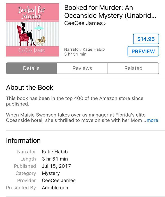 I'm so sorry excited!! The first full length audiobook that I've narrated is for sale! Check it out on iTunes, Amazon or Audible. 💃🏻💃🏻💃🏻💃🏻