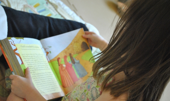 Reading Easter Story