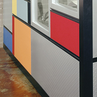 Endless tile finish and configuration options