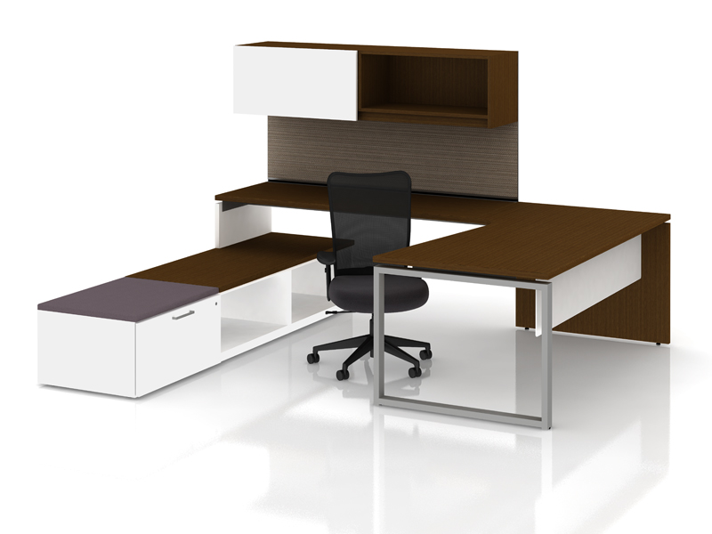 Priority private office with low storage and Itsa seating