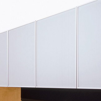 Opaque Frost Glass Panels