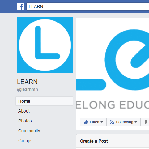 News and Updates - Visit LEARN on Facebook to see what's going on now!