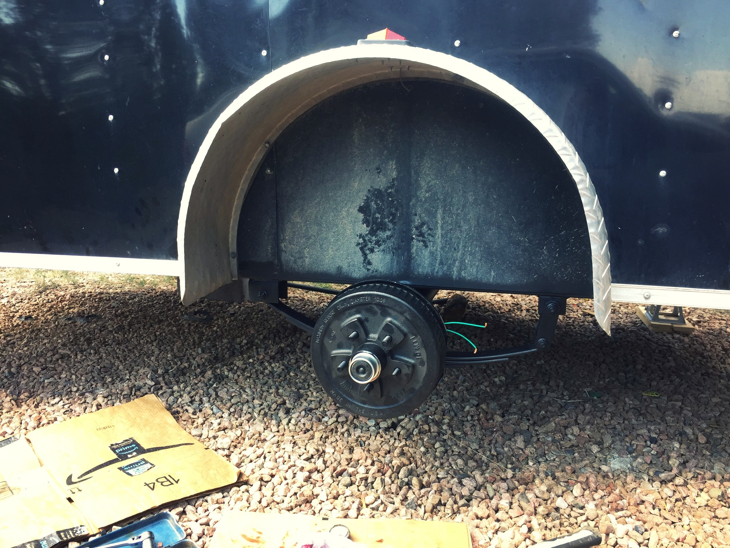Follow the instructions (aka youtube videos) to install the brakes.