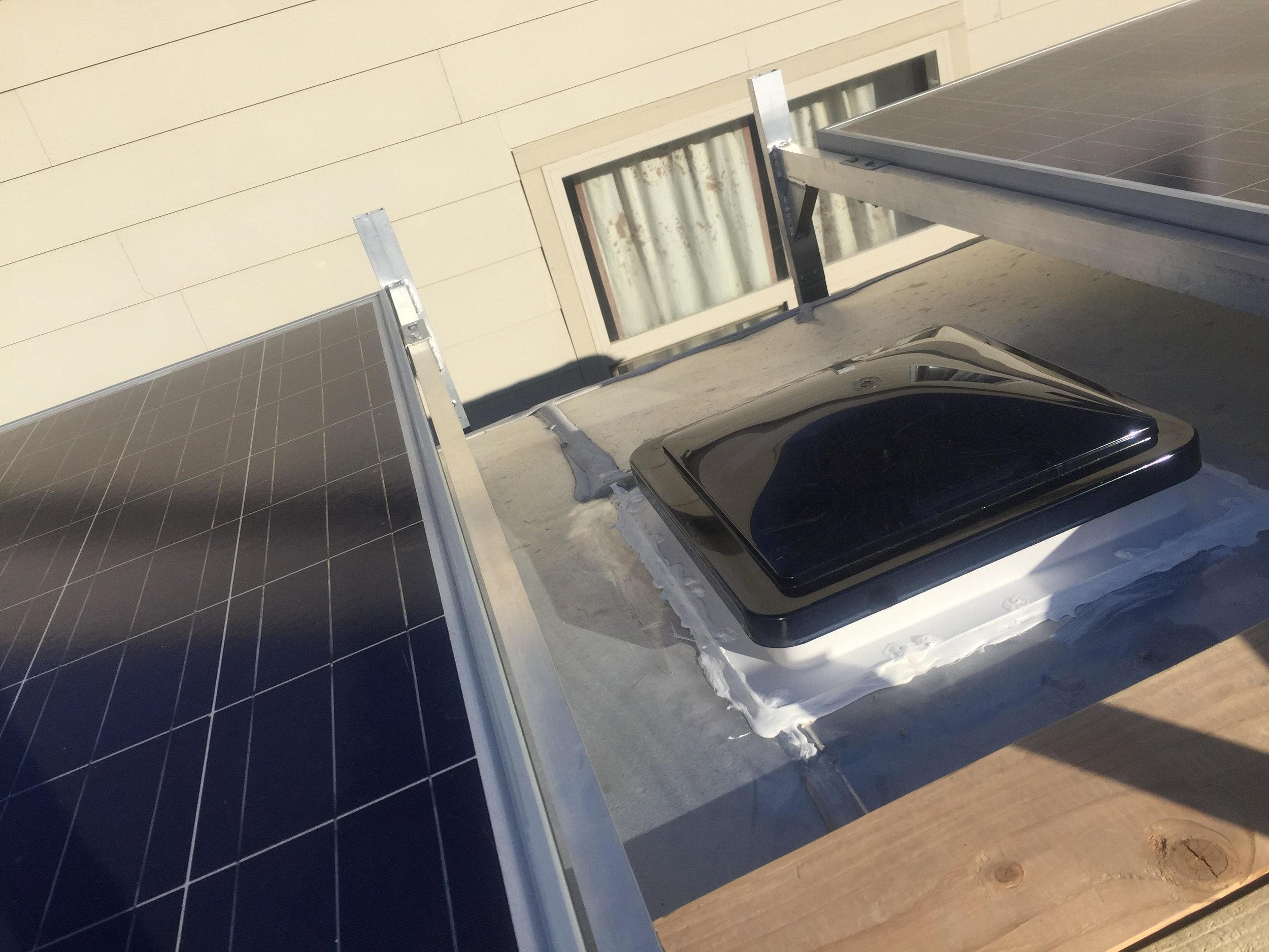 New fantastic fan vent installed