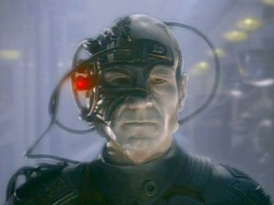 [I'll say it if no one else has the balls: We are the borg.]