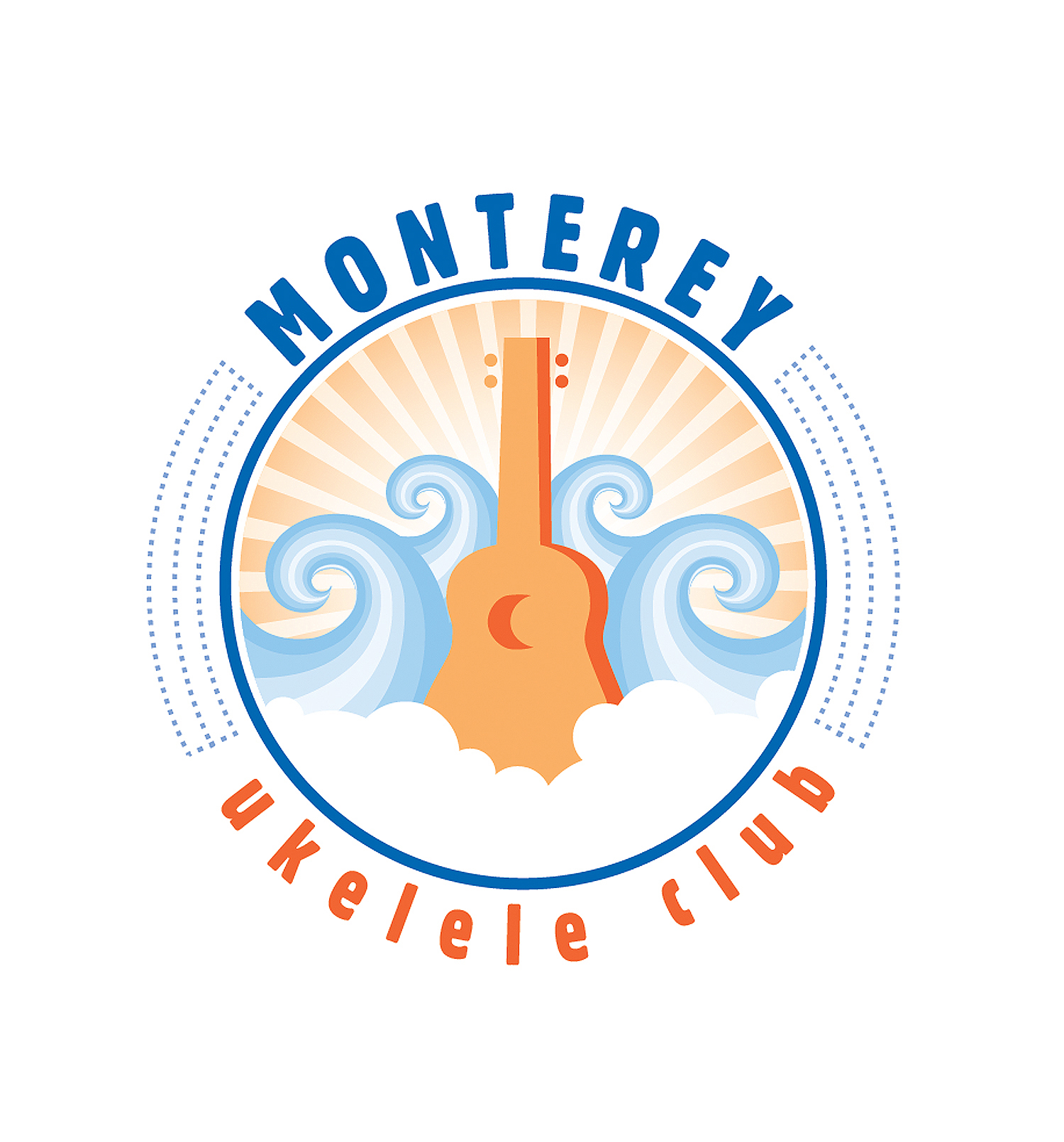 UKES BY THE SEA LOGO CONCEPT   |   Monterey Ukulele Club