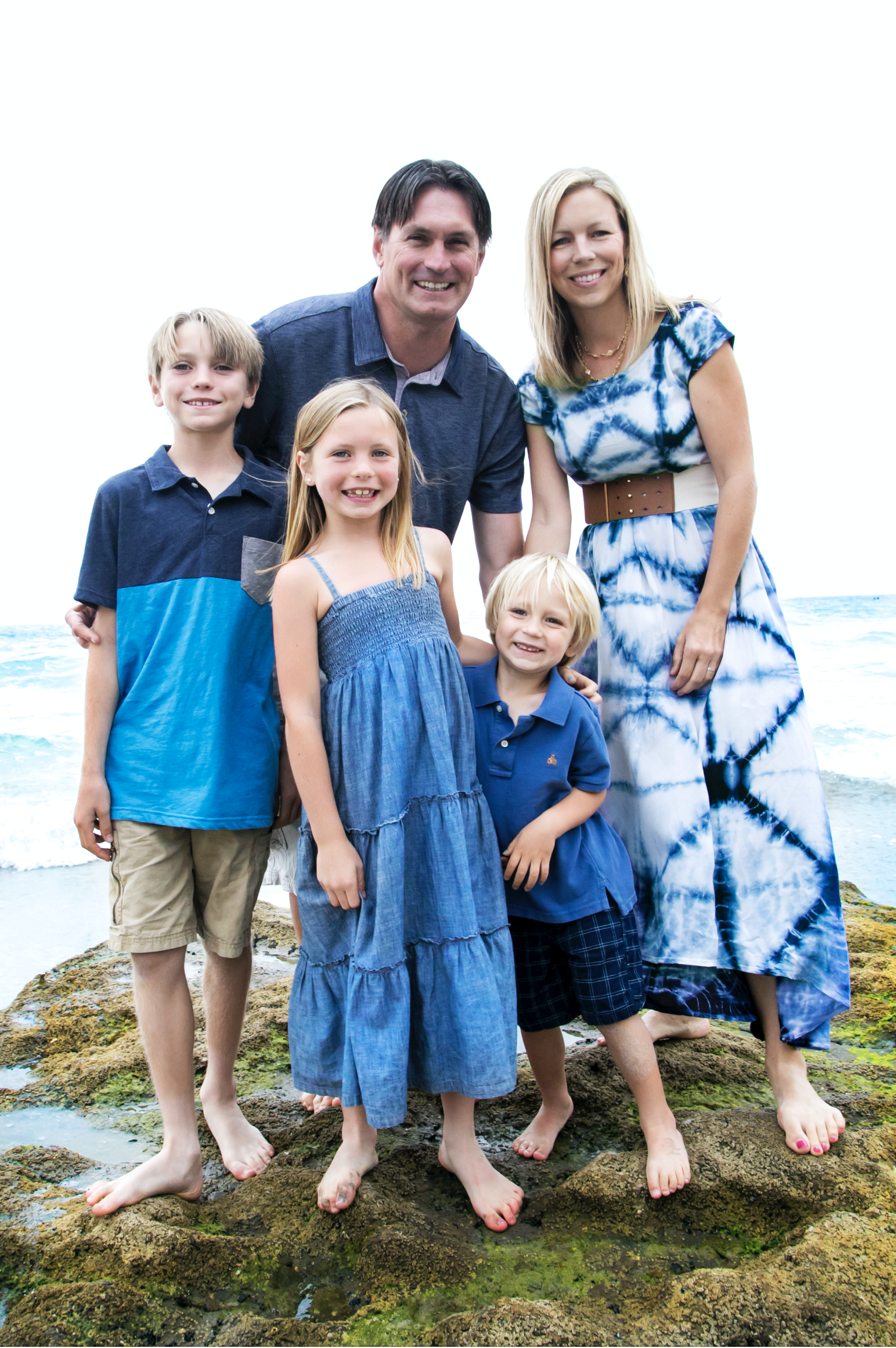 DAHL FAMILY, cardiff state beach, 2016