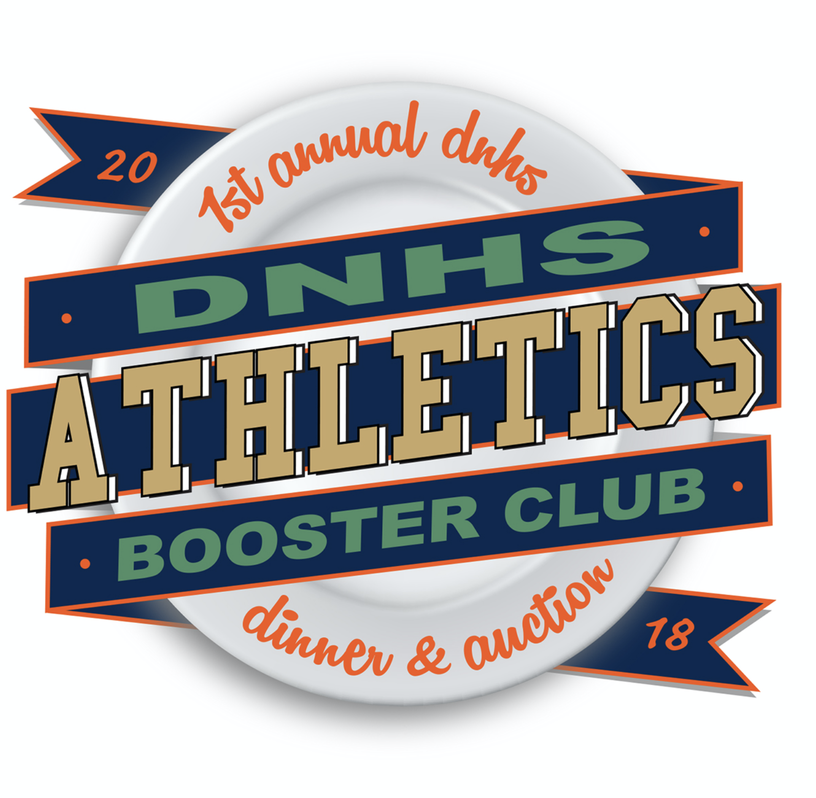FUNDRAISING DINNER LOGO   |   Del Norte High School Athletic Booster Club, 2018