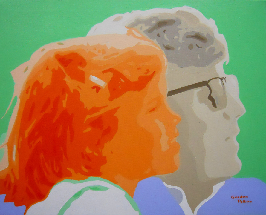 """John F. Kennedy and Caroline   20"""" x 16"""" Gallery-Wrap Acrylic $1595  Giclee Copies Available     PLACE ORDER"""