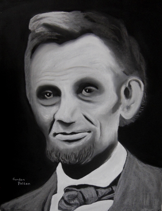 """Abraham Lincoln 2  18"""" x 24"""" Unframed Pastel $1295  Gilclee Copies Available     PLACE ORDER"""