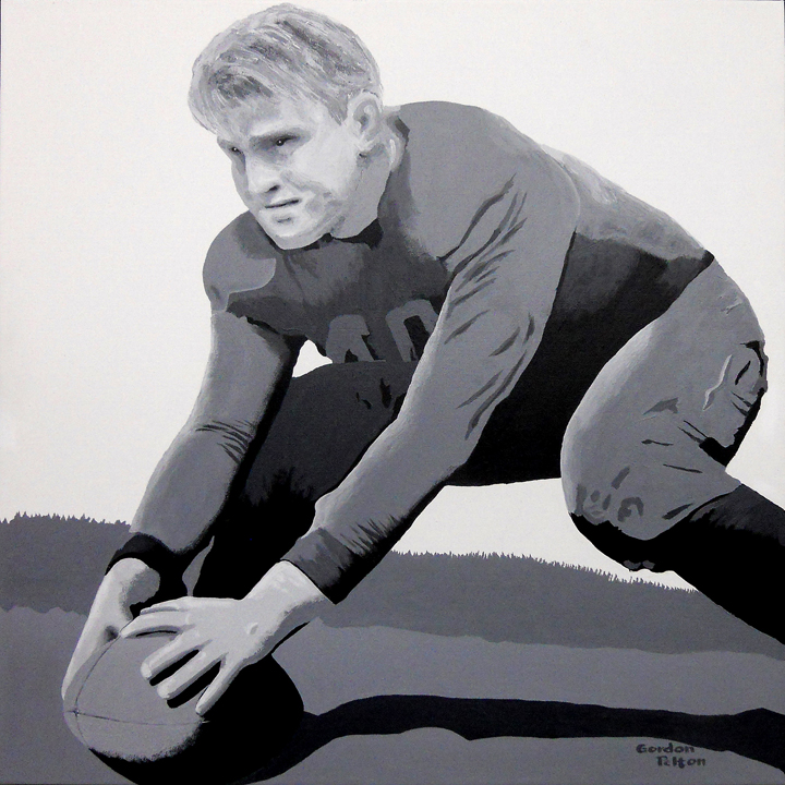 """Gerald Ford   24"""" x 24"""" Gallery-Wrap Acrylic $2295  Giclee Copies Available       PLACE ORDER"""