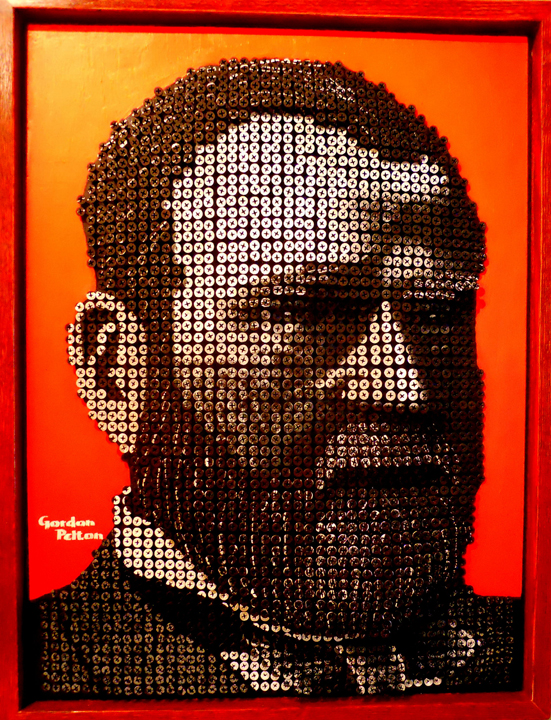 """""""Pres. Ulysses S. Grant"""" in   Bas Relief   20"""" x 26"""" Framed Screws in Plywood Panel $4100     PLACE ORDER"""