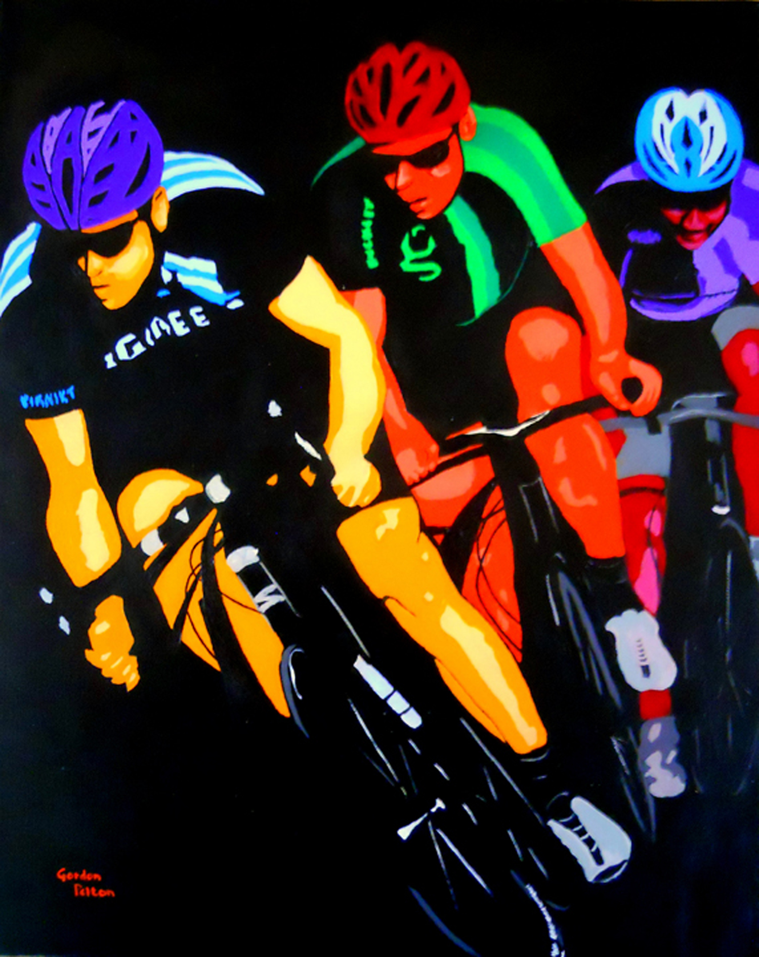 "T he Race   16"" x 24"" Gallery-Wrap Acrylic $1250  Giclee Copies Available     PLACE ORDER"