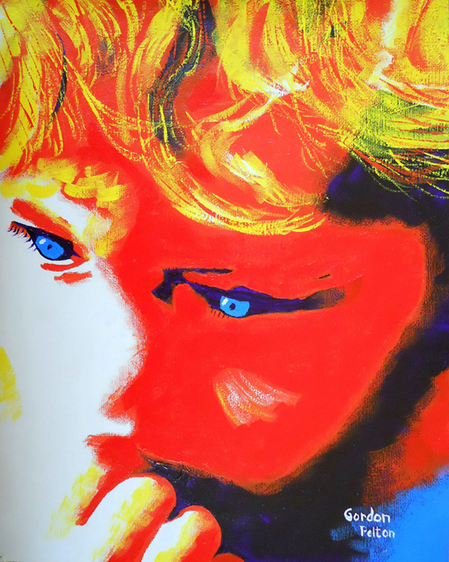 """Sophie   19"""" x 22"""" Framed Acrylic   $1295  Gilclee Copies Available"""