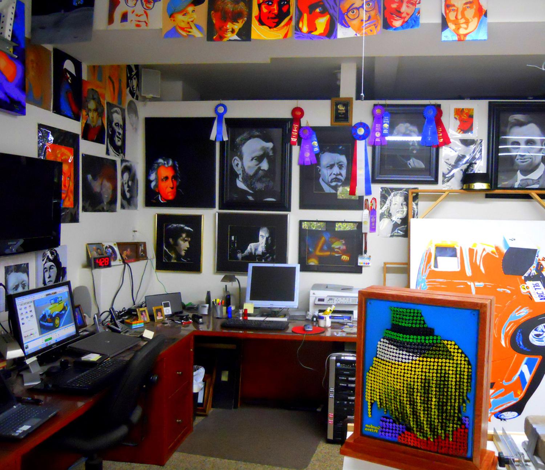 NorthViewInside Gordon's Studio