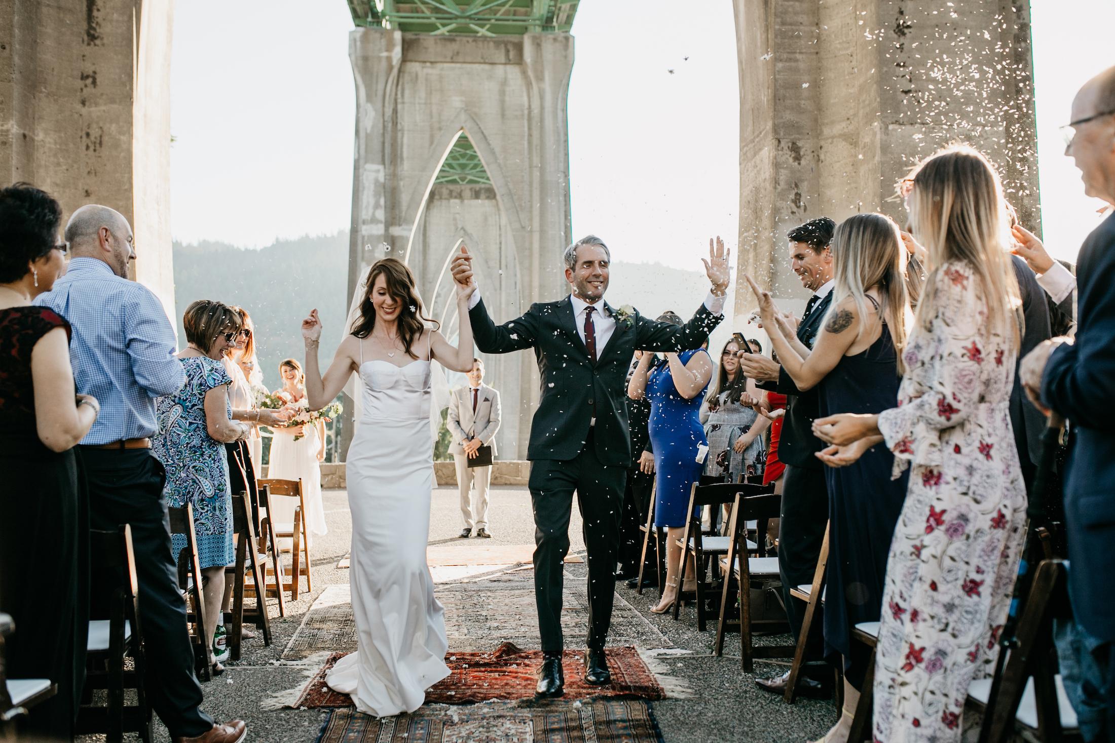 CATHEDRAL PARK WEDDING | PORTLAND -