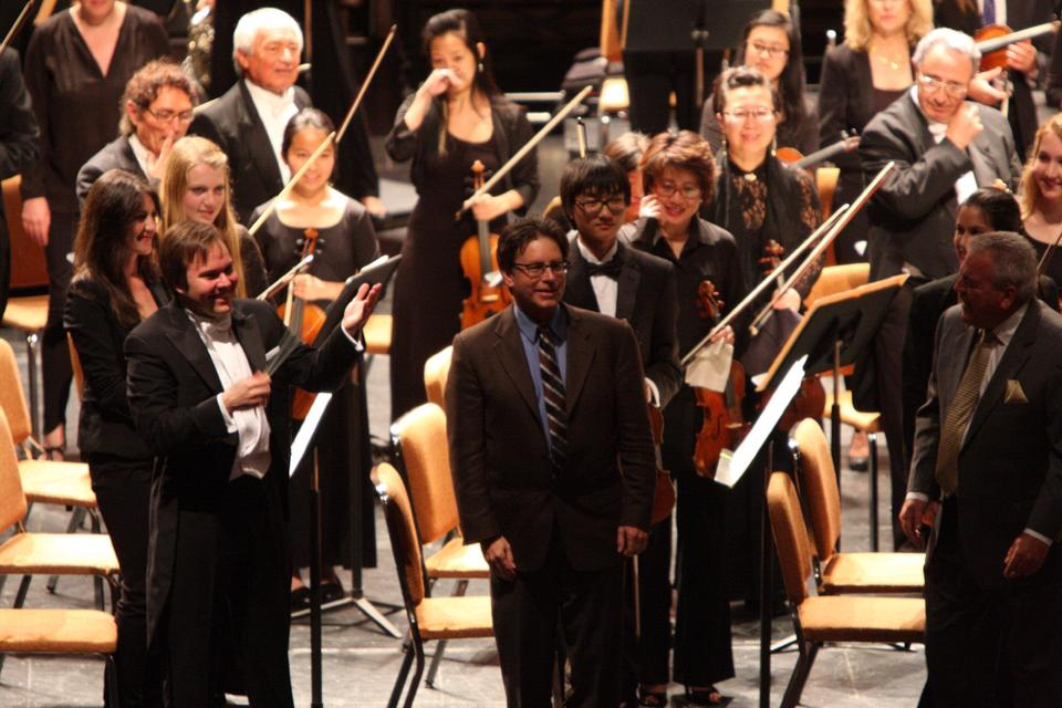 World Premiere of Cosmic with conductor Marcelo Lehninger and the New West Symphony