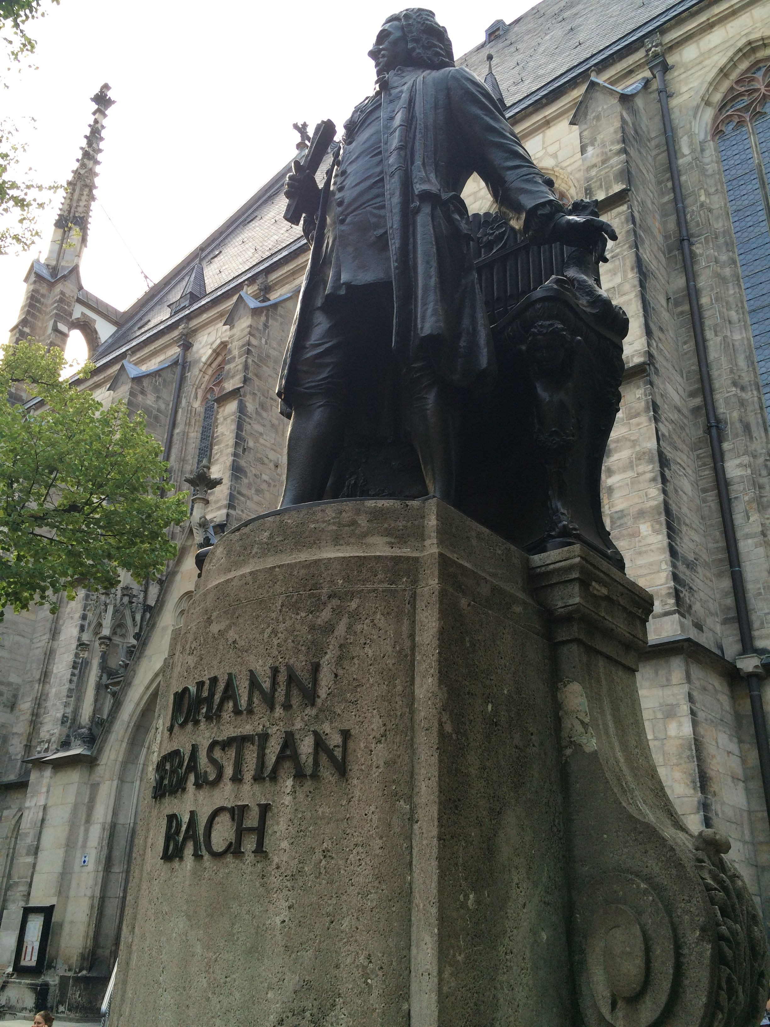 "My ultimate goal—to visit St. Thomas Church in Leipzig and ""dig"" for a lost Bach cantata :)"