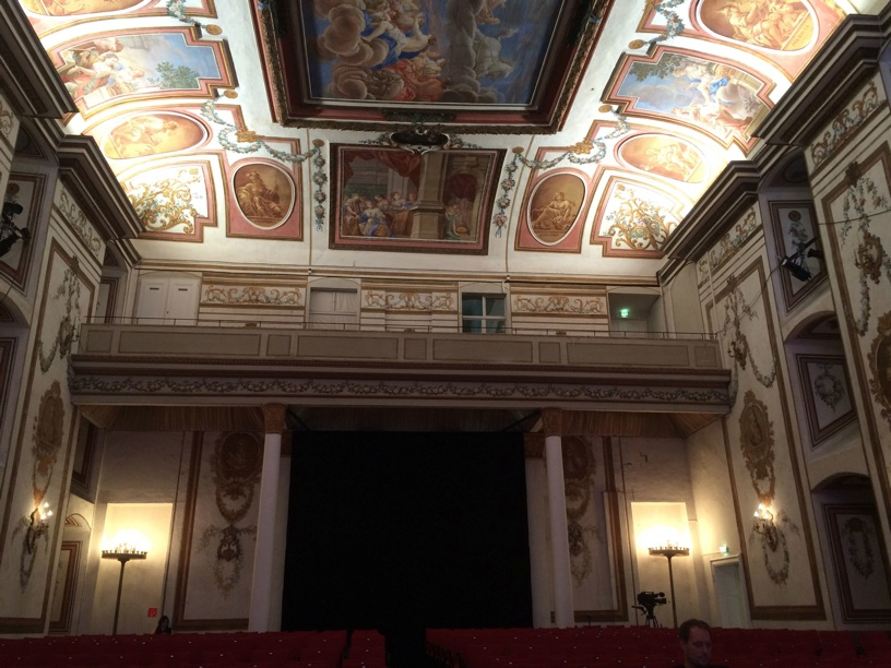 Haydn Hall in Esterhazy Castle—the reverence of the Sistine Chapel with perfect acoustics!