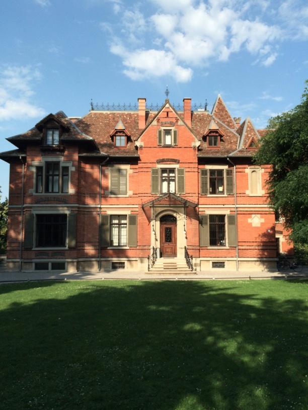 Villa Schönberg, Richard Wagner's residence in Zürich where he composed Tristan und Isolde.